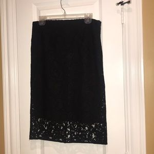 NWT lace pencil skirt